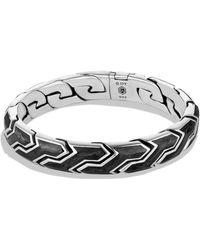 David Yurman - Forged Carbon Link Bracelet - Lyst