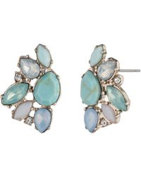 Marchesa - Cluster Earrings - Lyst