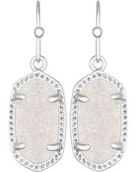 Kendra Scott - Lee Agate Drop Earrings - Lyst