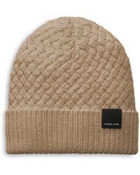 Canada Goose - Basket Weave Wool Knit Beanie - Lyst