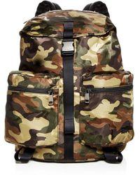Michael Kors - Kent Camo-print Nylon Backpack - Lyst