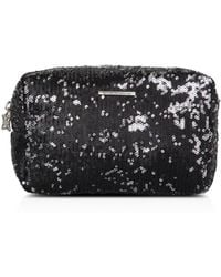 BCBGeneration - Aria Sequin Cosmetic Pouch - Lyst