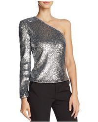 Bardot - Sequined Top - Lyst