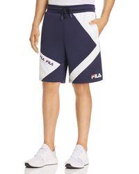 649b491cd3c5 Lyst - Fila Ronald Woven Shorts Peacoat in Blue for Men