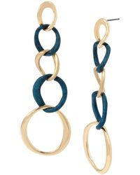 Robert Lee Morris - Sculptural Link Earrings - Lyst