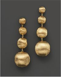 "Marco Bicego - ""africa"" Bead Drop Earrings - Lyst"