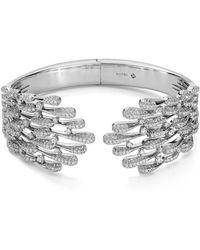 Nadri - Dappled Fannin Drop Hinge Bracelet - Lyst