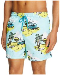 Vilebrequin - Moorea Mini Moke Print Swim Trunks - Lyst