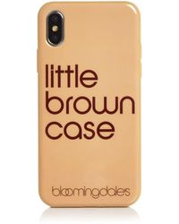 Bloomingdale's - Little Brown Iphone X Case - Lyst