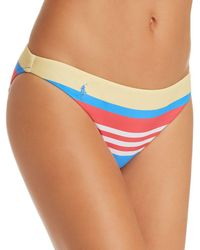 Ralph Lauren - Polo Engineered Stripe Retro Bikini Bottom - Lyst