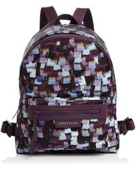 Longchamp - Le Pliage Neo Printed Small Backpack - Lyst