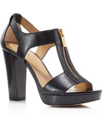 bc6c613ff124 MICHAEL Michael Kors Ailee Berkley Studded Lizardeffect Leather ...