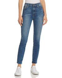 PAIGE - Hoxton Ankle Skinny Jeans In Kenway - Lyst