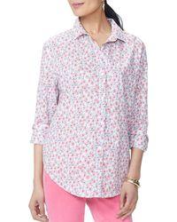 NYDJ - Lawn Button Down Shirt - Lyst