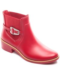 Bernardo - Women's Buckled Rain Booties - Lyst