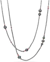 David Yurman - Hematine And Rhodolite Garnet - Lyst