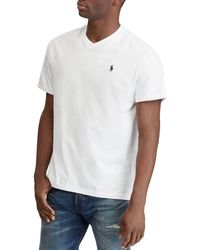 Polo Ralph Lauren - Classic Fit V-neck Tee - Lyst