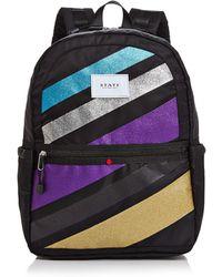 State - Kane Glitter Stripe Backpack - Lyst