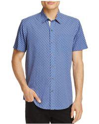 W.r.k. - Spokes Reworked Regular Fit Button-down Shirt - Lyst