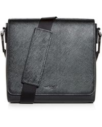 Michael Kors - Harrison Crossgrain Leather Messenger Bag - Lyst