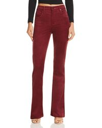 Blank NYC - High-rise Flared Corduroy Jeans - Lyst