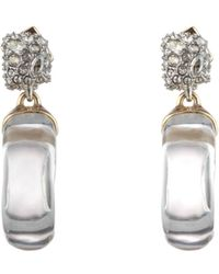 Alexis Bittar - Domed Drop Circle Earrings - Lyst