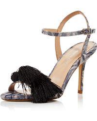 Charles David - Women's Sassy Jacquard Tassel High Heel Sandals - Lyst