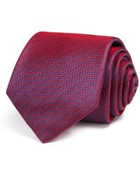 W.r.k. - Textured Solid Classic Tie - Lyst