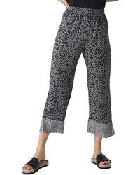 Whistles - Riya Printed Pants - Lyst