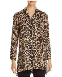 Kenneth Cole - Leopard Print Tunic - Lyst