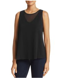 NIC+ZOE - Nic+zoe Layered Look Sleeveless Top - Lyst