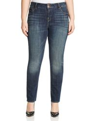 Lucky Brand - Emma Faded Straight Leg Jeans In Tiburon - Lyst