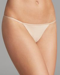 Calvin Klein - Sleek Model Thong - Lyst