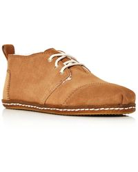 TOMS - Women's Bota Suede Lace-up Boots - Lyst
