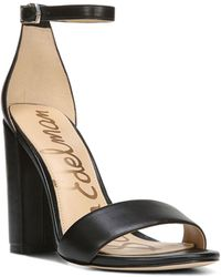 Sam Edelman - Yaro Leather Dress Sandals - Lyst