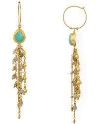 Chan Luu - Cultured Freshwater Pearl Linear Drop Earrings - Lyst