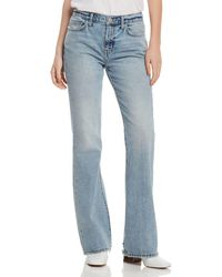 Current/Elliott - The Jarvis High-rise Flared Jeans In Hartley - Lyst