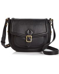 Annabel Ingall - Dakota Leather Saddle Bag - Lyst