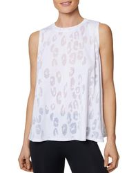 Betsey Johnson - Leopard Burnout Muscle Tank - Lyst