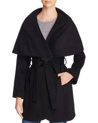 T Tahari - Marla Belted Wrap Coat - Lyst
