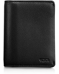 Lyst tumi bowery slim id card case in black for men tumi chambers gusseted card case lyst colourmoves