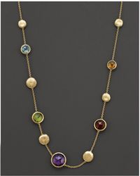 "Marco Bicego - ""jaipur Collection"" Semi Precious Stone Necklace - Lyst"