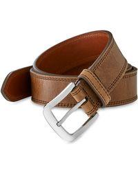 Shinola - Double Stitch Belt - Lyst