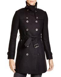 Burberry - Daylesmoore Wool Blend Coat - Lyst