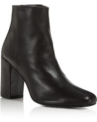 Charles David - Studio Block Heel Booties - Lyst