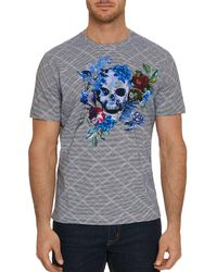 Robert Graham - Naylor Printed Graphic Tee - Lyst