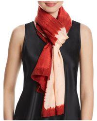 Eileen Fisher - Silk Tie-dye Scarf - Lyst
