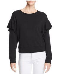 Joe's Jeans - Faye Ruffled Sweatshirt - Lyst