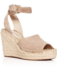 6fed0939874 Kenneth Cole - Women s Olivia Espadrille Wedge Sandals - Lyst