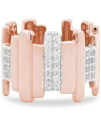 Freida Rothman - Radiance Staggered Band Ring - Lyst